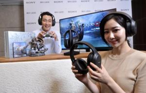 [ER포토]게임과 영화에 최적화된 무선 헤드폰 소니 WH-L600