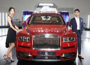 [ER포토]롤스로이스, 브랜드 최초 SUV '롤스로이스 컬리넌'출시