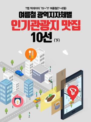 [카드뉴스] 여름철 지자체별 인기관광지·맛집 10선(下)