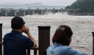 [Story 포토] 한강 수위 영향을 주는 팔당댐 상황은?